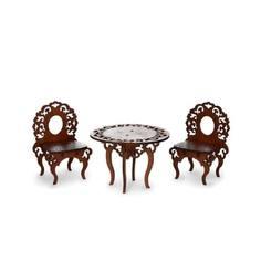 Игровой набор ЯиГрушка «Стол и два стула»