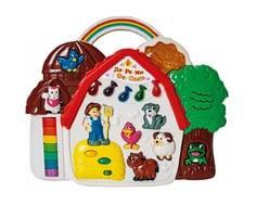 Развивающая игрушка Расти Малыш «Музыкальный теремок»
