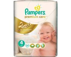 Подгузники Pampers Premium Care 4 (7-14 кг) 24 шт.