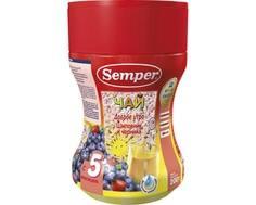 Чай Semper «Доброе утро» Шиповник и черника с 5 мес. 200 г