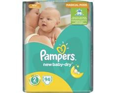 Подгузники Pampers New Baby 2 (3-6 кг) 94 шт.