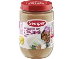Пюре Semper Картофельное рагу с говядиной с 10 мес. 190 г