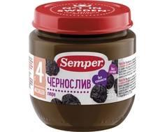 Пюре Semper Чернослив с 4 мес. 125 г