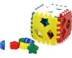 Сортер Строим вместе счастливое детство «Логический куб»