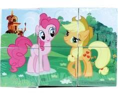 Кубики Играем Вместе «My Little Pony» 6 шт.