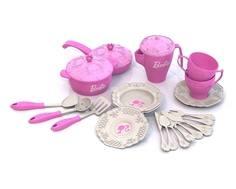 Игровой набор посуды Barbie 21 пр.