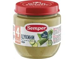 Пюре Semper Цукини с 4 мес. 125 г