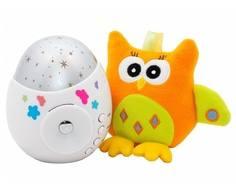 Ночник-проектор звездного неба Roxy-kids «Colibri» с совой