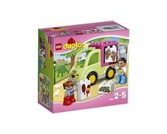 Конструктор LEGO DUPLO 10586 Фургон с мороженым