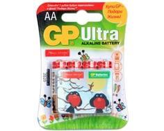 Элемент питания GP Ultra АА с магнитом 4 шт