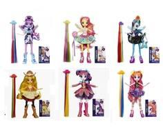 Кукла Equestria Girls «Rockin Hairstyle» в ассортименте