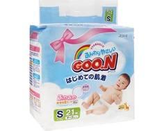 Подгузники Goo.N S (4-8 кг) 21 шт. Goon.