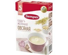Каша молочная Semper овсяная с 5 мес. 200 г