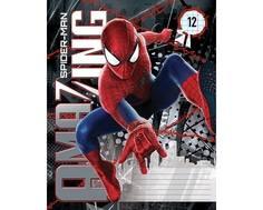 Тетрадь в клетку Spider-man 12 листов