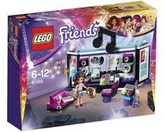 Конструктор LEGO Friends 41103 Поп звезда: студия звукозаписи