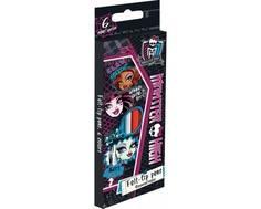 Набор цветных фломастеров Monster High 6 шт