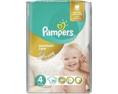 Подгузники Pampers Premium Care 4 (8-14 кг) 20 шт.