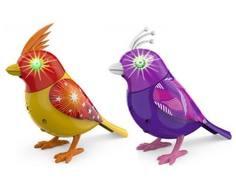 Интерактивная игрушка DigiBirds «Птичка с мерцающими глазами»