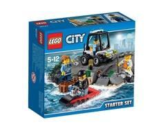 Конструктор LEGO City 60127 Набор для начинающих: Остров-тюрьма