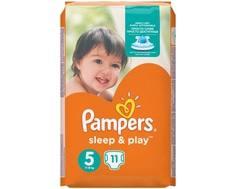 Подгузники Pampers Sleep&Play 5 (11-18 кг) 11 шт.