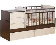 Кроватка-трансформер Daka Baby 02 комби Dakababy