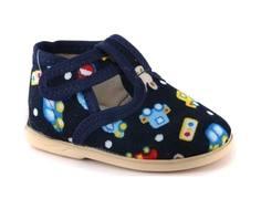 Туфли для мальчика Домашки темно синие