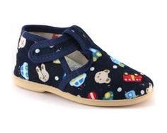 Туфли для мальчика Домашки темно-синие