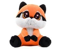 Мягкая игрушка СмолТойс «Енотик Сенька» 26 см оранжевая