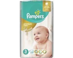 Подгузники Pampers Premium Care 3 (5-9 кг) 60 шт.