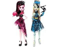 Кукла Monster High «Буникальные танцы» с аксессуарами 26 см в ассортименте