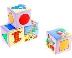 Кубики мягкие Дельфин «Колобок»