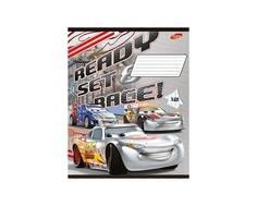 Тетрадь в клетку Disney Cars 12 листов в ассортименте