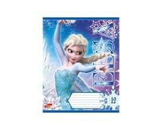 Тетрадь в клетку Disney Frozen 12 листов в ассортименте