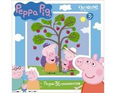 Пазл Origami «Peppa Pig: Сбор яблок» 36 эл.