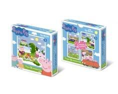 Пазл Origami «Peppa Pig: Пикник с драконом» 36 эл.