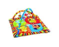 Игровой коврик Умка квадратный с мягкими игрушками на подвеске Umka