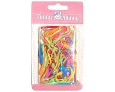 Резинка для волоc Funny Bunny силикон 80 шт.