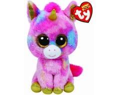 Мягкая игрушка TY Beanie Boos «Единорог Fantasia» 15 см