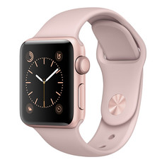 Умные часы APPLE Watch Series 2 38mm Pink Gold with Pink Sand Sport Band MNNY2RU/A