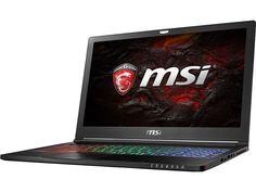 Ноутбук MSI GS63 7RD-066XRU 9S7-16K412-066 (Intel Core i7-7700HQ 2.8 GHz/16384Mb/256Gb SSD/No ODD/nVidia GeForce GTX 1050 2048Mb/Wi-Fi/Bluetooth/Cam/15.6/1920x1080/DOS)