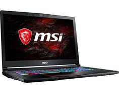 Ноутбук MSI GE73VR 7RF-231XRU 9S7-17C112-231 (Intel Core i7-7700HQ 2.8 GHz/16384Mb/1000Gb + 256Gb SSD/No ODD/nVidia GeForce GTX 1070 8192Mb/Wi-Fi/Bluetooth/Cam/17.3/1920x1080/DOS)