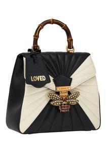 Рюкзак Queen Margaret с декоративной пряжкой Gucci