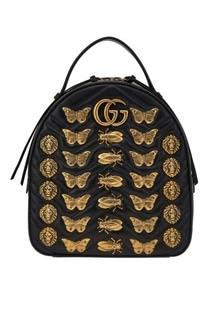 Рюкзак GG Marmont с металлическим декором Gucci
