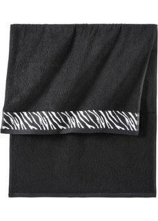 Полотенце для рук Фауна (с узором зебры) Bonprix