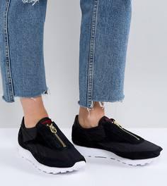 Черные кроссовки с молниями Reebok Classic Aztec - Черный