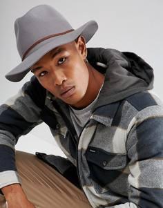 Шляпа Brixton Wesley - Серый