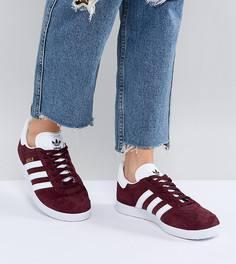 Бордовые кроссовки adidas Originals Gazelle - Красный