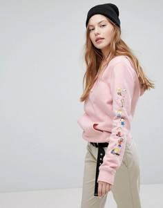 Розовый худи Vans X Peanuts Dance Party - Розовый
