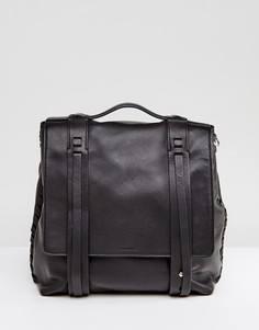 Рюкзак AllSaints Fin Lea - Черный