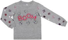 Пижама для мальчика Barkito «Сновидения», верх - серый, низ - серый с рисунком